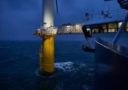 Überstieg Offshore Wind